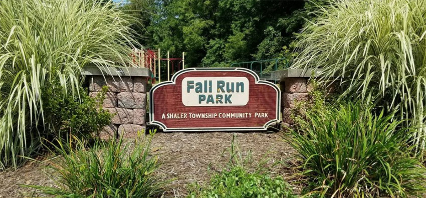 Fall Run Park Sign