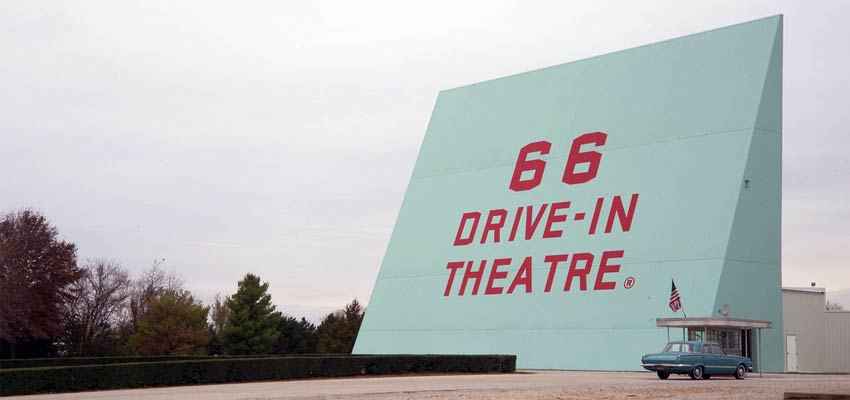66 Drive in Theater
