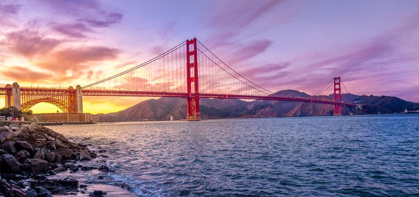 Golden Gate Bridge from Crissy Field Beach