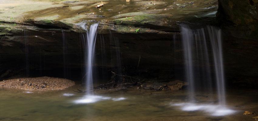 Old Mans Cave Falls