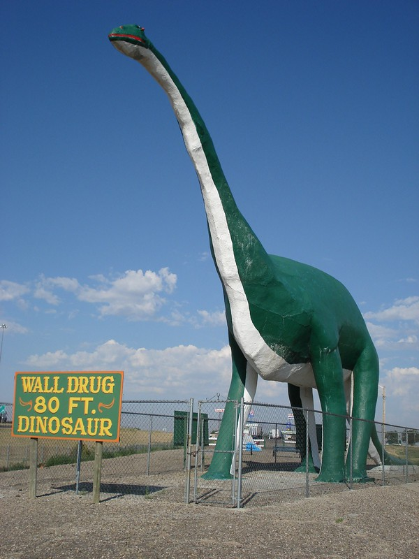 Wall Drug Dinosaur - Things to do near Mount Rushmore