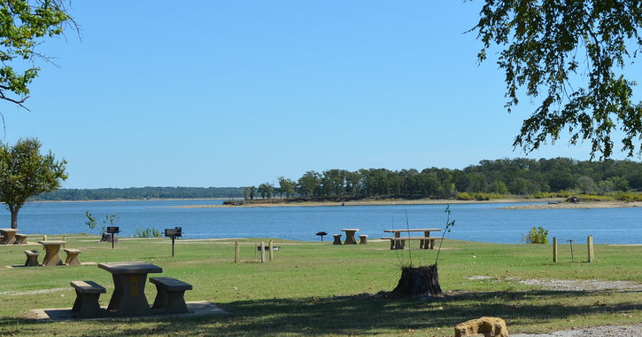 Lake Texoma State Park Oklahoma