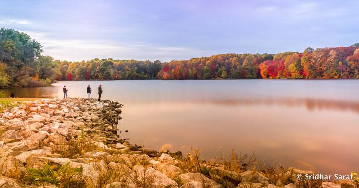 Centennial Lake and Park Maryland