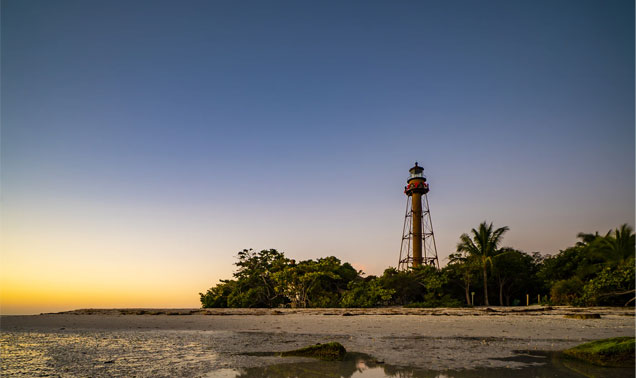 Lighthouse Beach Sanibel Island Shells
