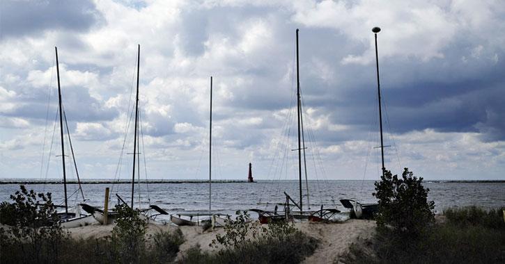 Pere Marquette Park Beach Michigan
