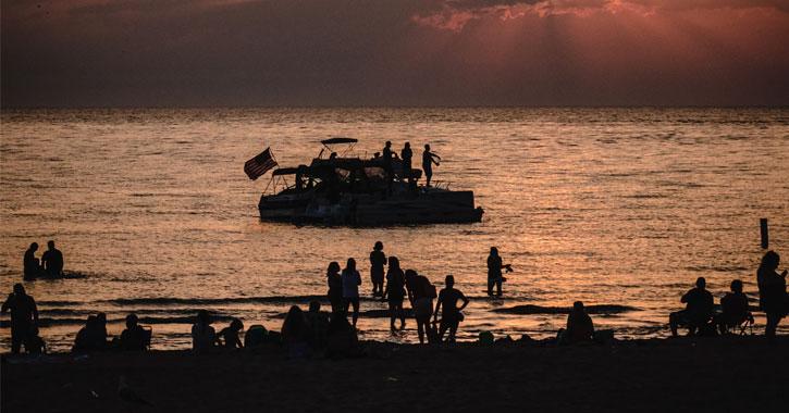 St. Joseph Beach, Michigan