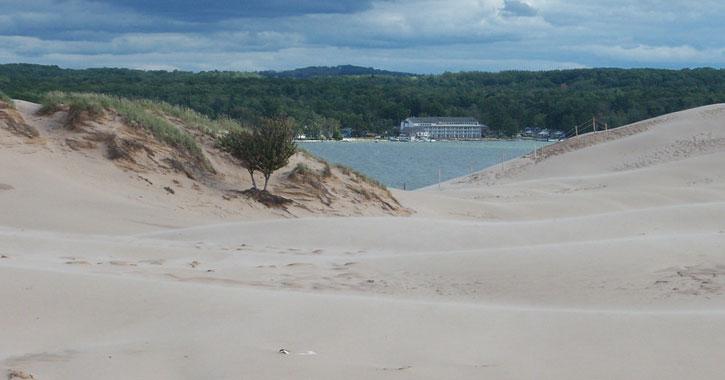 Silver Lake Sand Dunes Beach