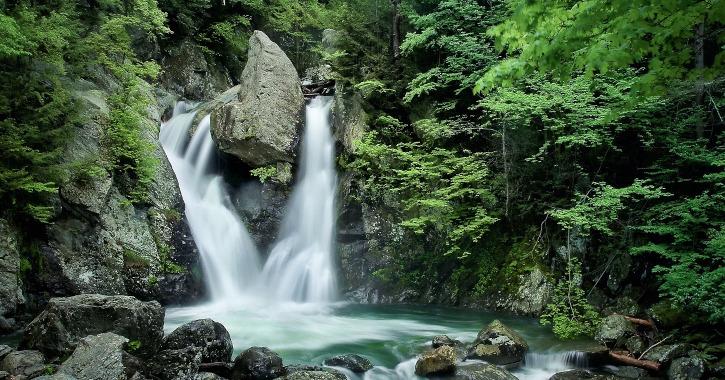 Top Waterfalls in Massachusetts - Bash Bish Falls