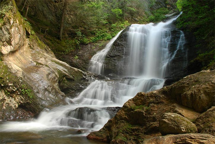 Moss Glen Falls Stowe