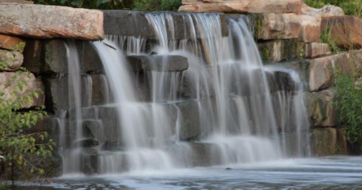 04 Centennial Park Falls - Tulsa, Oklahoma