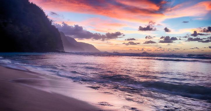 04 Kee Beach - Hanea, Hawaii