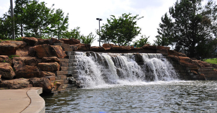 07 Bricktown Falls - Oklahoma City, Oklahoma