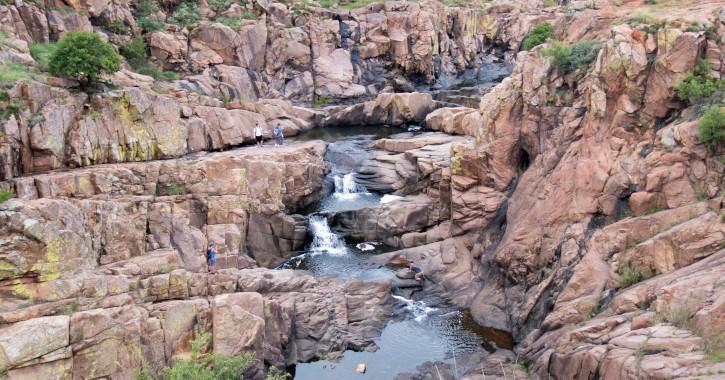 11 Cache Creek Falls - Cache, Oklahoma