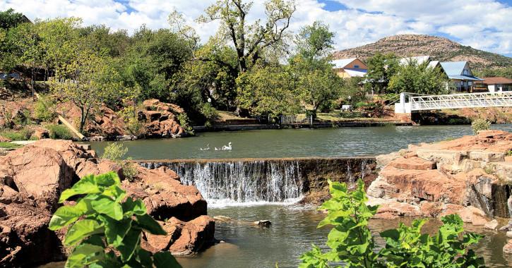 12 Medicine Park Falls - Medicine Park, Oklahoma