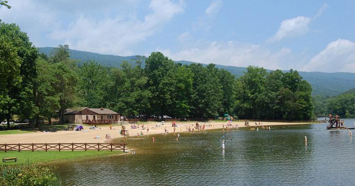 Lakes in Virginia