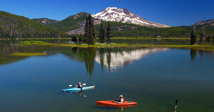 Cascade Lakes in Oregon